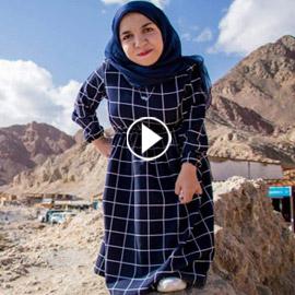 فيديو وصور نسمه يحيى: مصرية أول عارضة أزياء من قصار القامة