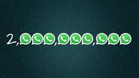 بعد 11 عاماً.. مستخدمو واتساب يتجاوزون المليارين