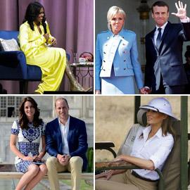 لكل فستان قصة ـ ملابس شخصيات سياسية أثارت الجدل