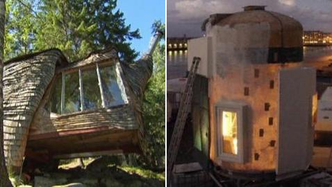 صور لأغرب 5 تصاميم منازل في أوروبا!