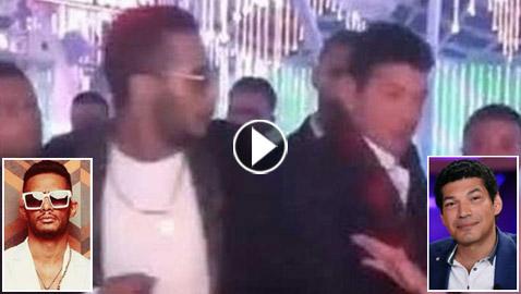 فيديو: محمد رمضان يغني بلاي باك وباسم سمرة يعتدي عليه على المسرح!