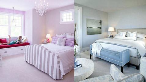 5 ألوان تمنحك شعوراً بالراحة في غرفة النوم