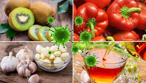 هذه الأطعمة والمشروبات تقي من الإصابة بفيروس كورونا.. اكثروا منها