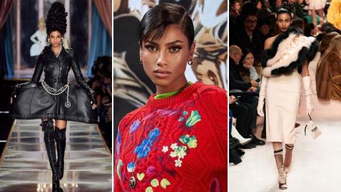 من هي عارضة الأزياء العربية التي تألقت في عروض ميلانو للموضة؟ صور