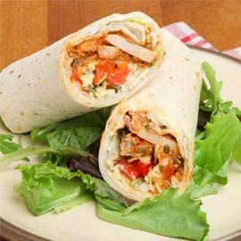 إليكم طريقة تحضير ساندوتش فاهيتا دجاج دايت الصحي والشهي