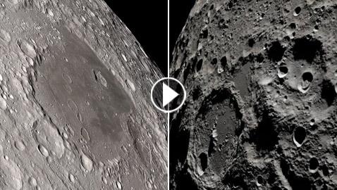 فيديو من ناسا يظهر مشاهد خلابة للقمر من منظور رواد الفضاء!