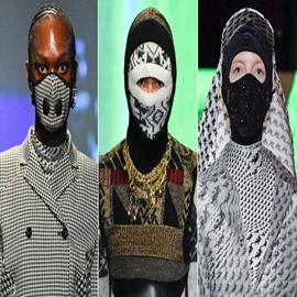 أقنعة وجه في أسبوع الموضة في باريس وسط مخاوف متزايدة من الوباء