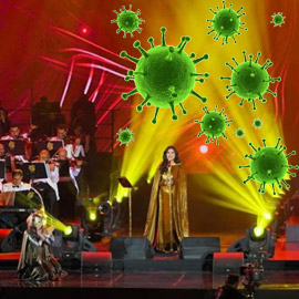 السعودية تؤجل حفلاتها الغنائية بسبب (كورونا) وتعيد قيمة التذاكر  ..