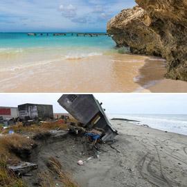 العلماء يتوقعون اختفاء نصف الشواطئ الرملية بحلول عام 2100!