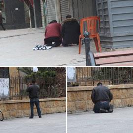 صور من لبنان: بعد إقفال المساجد مصلّون بالهواء الطلق يتحدّون كورونا!