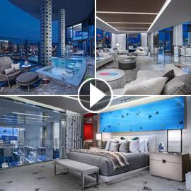 فيديو وصور: أغلى غرفة فندقية في العالم.. الليلة بـ100 ألف دولار!