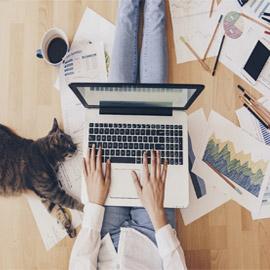 تعرفوا إلى أفضل 10 وظائف للعمل من المنزل