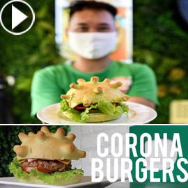 كورونا برغر.. ابتكار فيتنامي لرفع المعنويات في مواجهة الوباء!