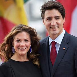 شفاء زوجة رئيس وزراء كندا بعد إصابتها بفيروس كورونا
