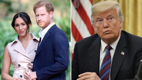 ترامب للأمير هاري وميغان: لن نحميكم! والأخيران: لا نحتاج للمساعدة!