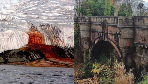 صور: إليكم أغرب 5 أماكن في العالم التي تحدث فيها أشياء غريبة وغامضة!