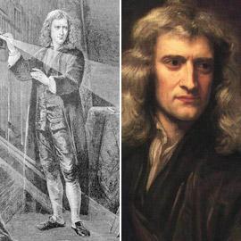 إسحاق نيوتن اكتشف أعظم نظرياته في فترة الحجر المنزلي من الطاعون!
