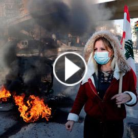 لبنان.. قطع طرقات احتجاجا على تردي الأوضاع المعيشية