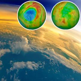 انغلاق أكبر ثقب لطبقة الأوزون فوق القطب الشمالي.. ما علاقة كورونا؟