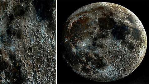 صور مذهلة.. التقاط أوضح صور لفوهات وحفر القمر!