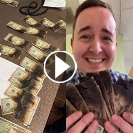 فيديو وصور: امريكي يضع 730 دولار في المايكرويف ليقتل كورونا فحرقها!