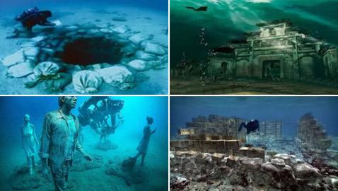بالصور: تعرفوا إلى أشهر 10 مدن تحت الماء فقدت من العالم القديم