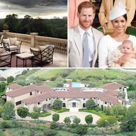 جولة داخل قصر الأمير هاري وميغان ماركل في لوس أنجلوس