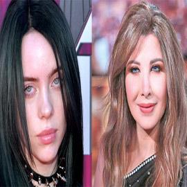فيديو وصور: المغنية العالمية بيلى ايليش معجبة بأغانى اللبنانية نانسى  ..