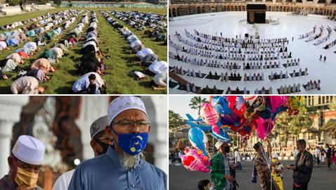 عيد الفطر 2020: المسلمون حول العالم يحتفلون رغم عدوى كورونا