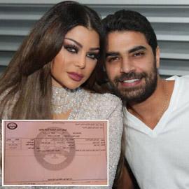 محمد وزيري يكشف السر ويرفع دعوى على هيفاء وهبي لإثبات زواجهما (مستند)