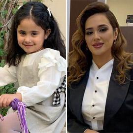 صور: ندى زيدان تحتفل بالعيد مع ابنتها (عيون جورج وسوف)
