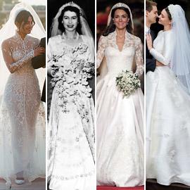 بالصور: قائمة بأجمل فساتين الزفاف الأيقونية التي لن ينساها التاريخ