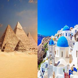 أبرزها الأهرامات... معالم وأماكن تاريخية يفتقدها السائحون حول العالم  ..