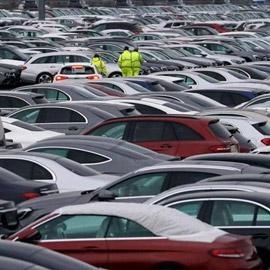انخفاض مبيعات السيارات الأوروبية الجديدة 56%