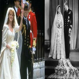 صور أغلى 7 فساتين زفاف للملكات بالعالم: بينها فستان بـ120 مليون جنيه..