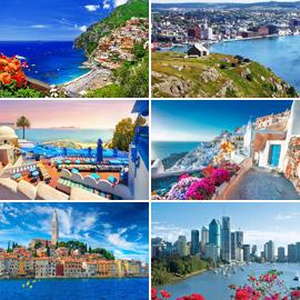 بالصور: تعرفوا إلى 14 من أجمل المدن الساحلية الخلابة في العالم