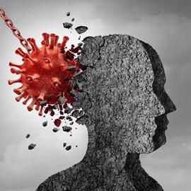 كورونا يلحق أضرارا بالمخ قد تصل للخرف.. نتائج مقلقة تذهل العلماء!