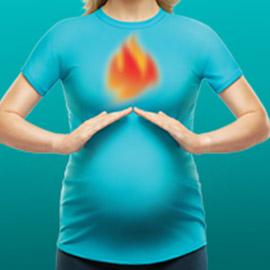 6 نصائح لتقليل حرقة المعدة اثناء الحمل