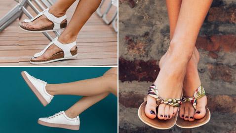 صور: 5 أنواع من أحذية الصيف.. كيف تختارين ما يناسبك فعلا؟
