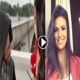 فيديو.. مراسلة تليفزيونية تتعرض للسطو المسلح على الهواء