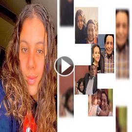فيديو حفيدة عادل امام تقتحم عالم التمثيل وتؤدي مشهد من مدرسة المشاغبين