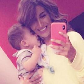 صورة رويدا عطية مع ابنها في عيد ميلادها: لأول مرة تكشف عن وجهه
