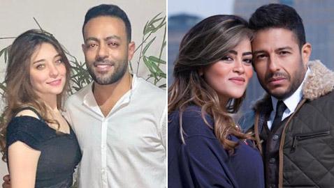 6 نجوم طلقوا شريكتهم ثم عادوا إليها منهم حماقي، عمرو سعد ونور الشريف