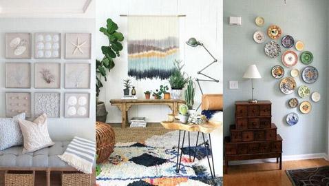 3 أفكار جديدة لديكور الجدران
