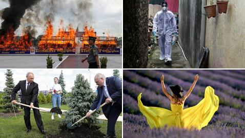 إليكم أبرز صور الأسبوع لأهم الأحداث في مختلف أنحاء العالم