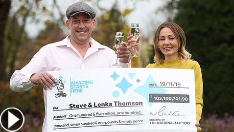 زوجان يفوزان بأكثر من 130 مليون دولار.. ويتصرفان بغرابة!