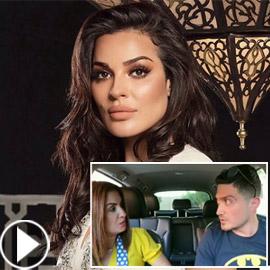 زوجة تعاتب زوجها لوضعه صورة نادين نجيم على هاتفه، كيف علقت الفنانة؟