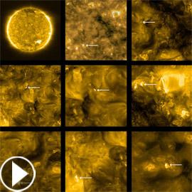 أقرب صور ملتقطة للشمس تكشف عن عمليات ثوران شمسية صغيرة