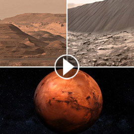 عالم آخر.. أول مشاهد مذهلة لفيديو من كوكب المريخ بدقة (4 كي) خيالية