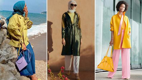 الأصفر الزعفراني والأزرق بينها.. أبرز ألوان الملابس النسائية لصيف 2020